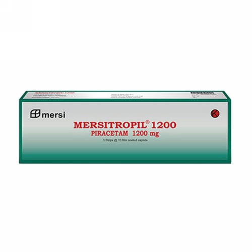 MERSITROPIL 1200 MG TABLET STRIP