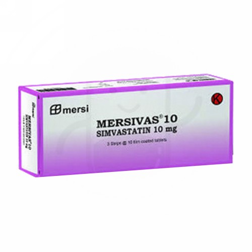 MERSIVAS 10 MG TABLET BOX