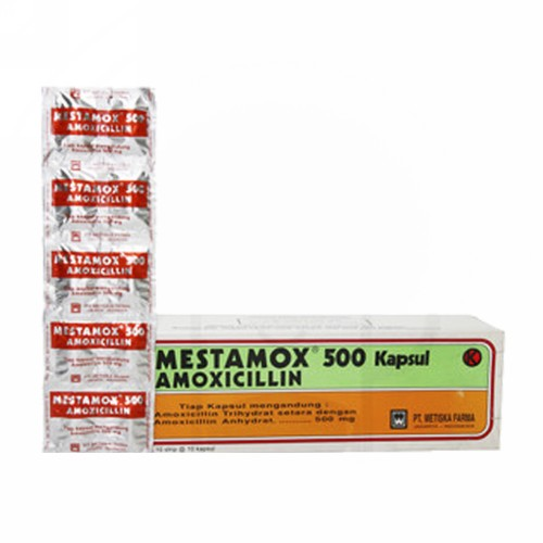 MESTAMOX 500 MG KAPSUL STRIP