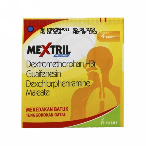 MEXTRIL BOX 100 TABLET