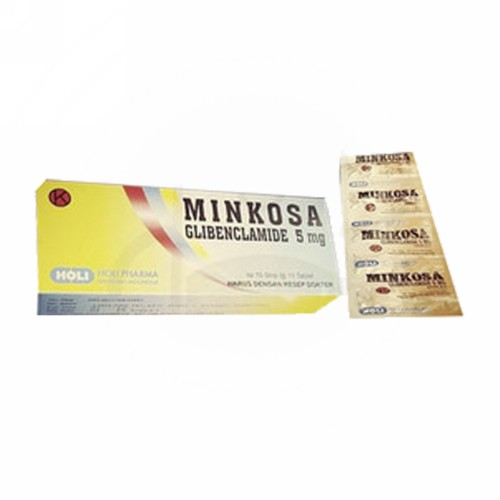 MINKOSA 5 MG TABLET BOX