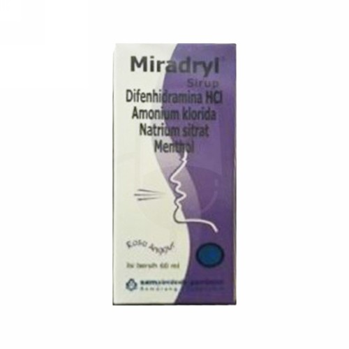 MIRADRYL SIRUP 60 ML