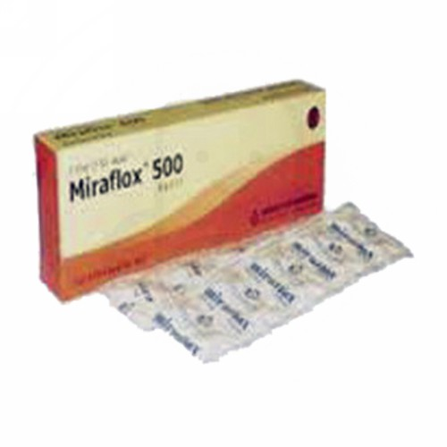 MIRAFLOX 500 MG KAPSUL STRIP