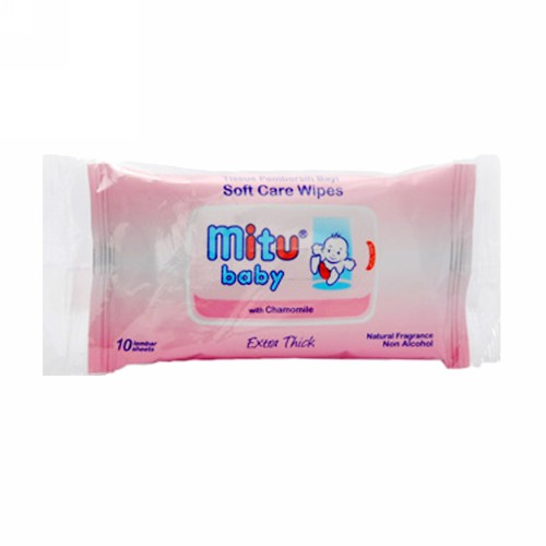 MITU TRAVEL PACK PINK 10 PCS