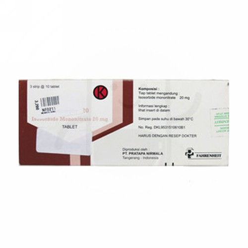 MONECTO 20 MG BOX 30 TABLET