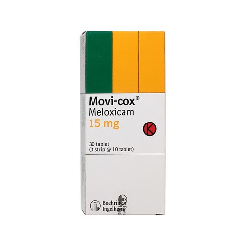 MOVICOX 15 MG TABLET BOX