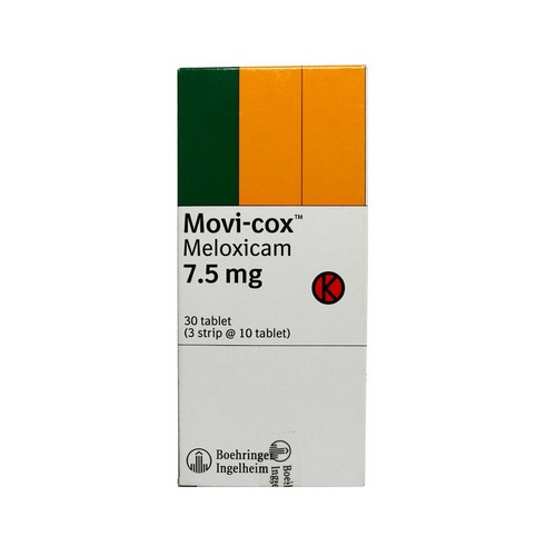 MOVICOX 7,5 MG TABLET BOX