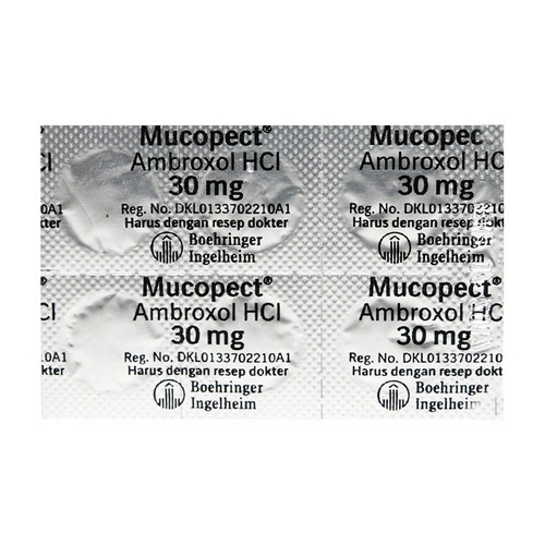MUCOPECT 30 MG BLISTER 10 TABLET