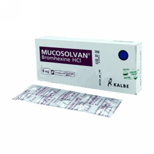 MUCOSOLVAN STRIP 10 TABLET