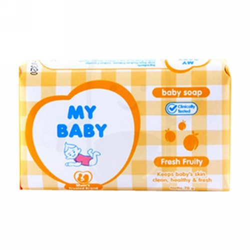 MY BABY SOAP FRESH FRUITY 70 GRAM DUS