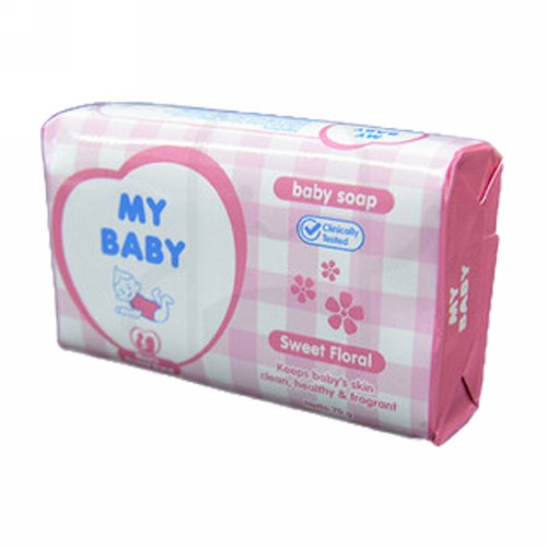 MY BABY SOAP SWEET FLORAL 70 GRAM DUS