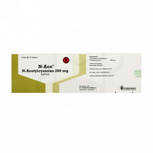 N-ACE 200 MG KAPSUL STRIP