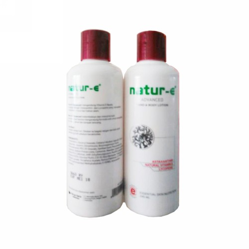 NATUR-E HAND BODY & LOTION ADVANCED 245 ML BOTOL