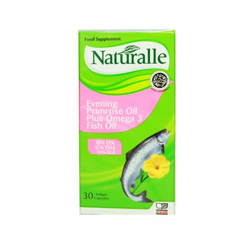 NATURALLE EPO PLUS FISH OIL 30 KAPSUL