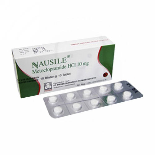 NAUSILE TABLET BOX