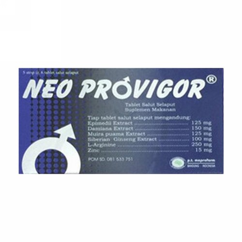 NEO PROVIGOR BOX 30 TABLET