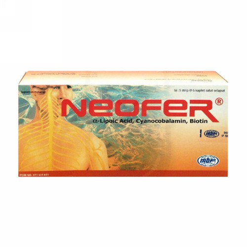 NEOFER BOX 30 KAPLET