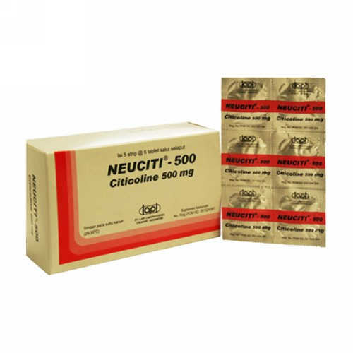 NEUCITI 500 MG BOX 30 TABLET