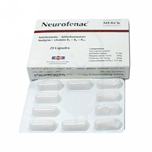 NEUROPENAC 25 MG TABLET BOX