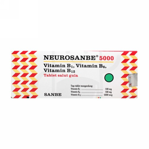 NEUROSANBE 5000 STRIP 10 TABLET
