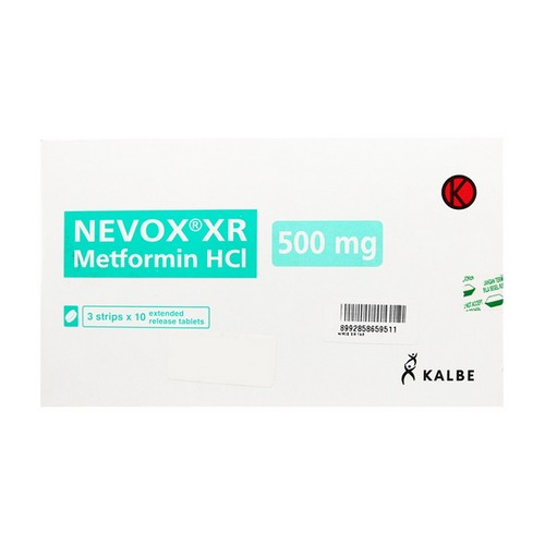 NEVOX XR 500 MG KAPLET STRIP