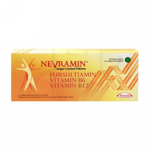 NEVRAMIN BOX 100 TABLET