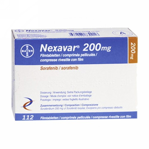 NEXAVAR 200 MG STRIP 10 TABLET