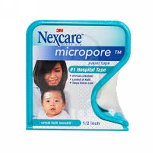 NEXCARE 3M MICROPORE PAPER TAPE HYPOALLERGENIC 1 IN X 10 YDS