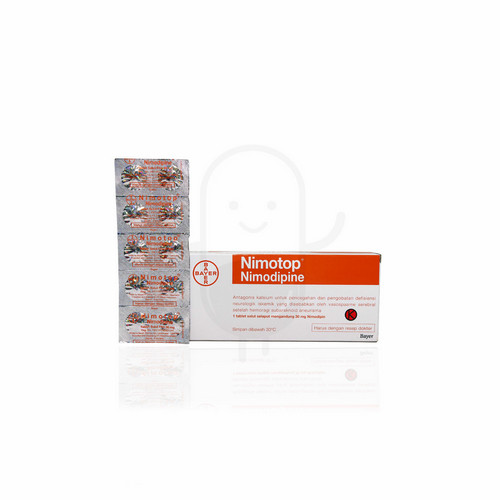 NIMOTOP 30 MG TABLET BOX