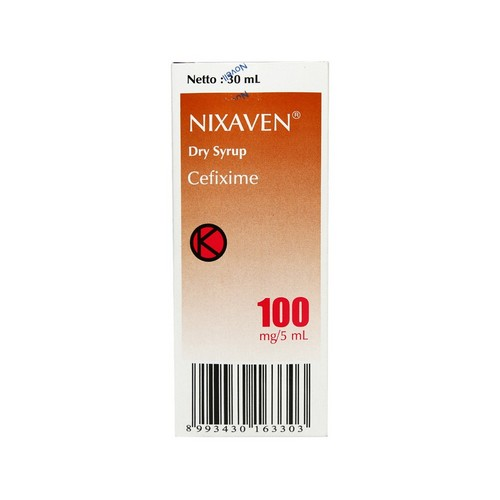 NIXAVEN 100 MG 30 ML SIRUP