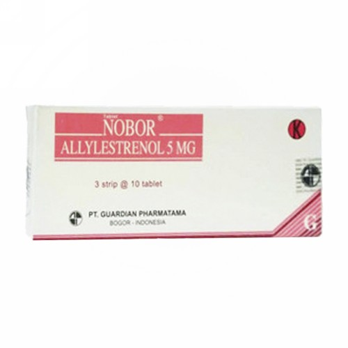 NOBOR 5 MG TABLET BOX