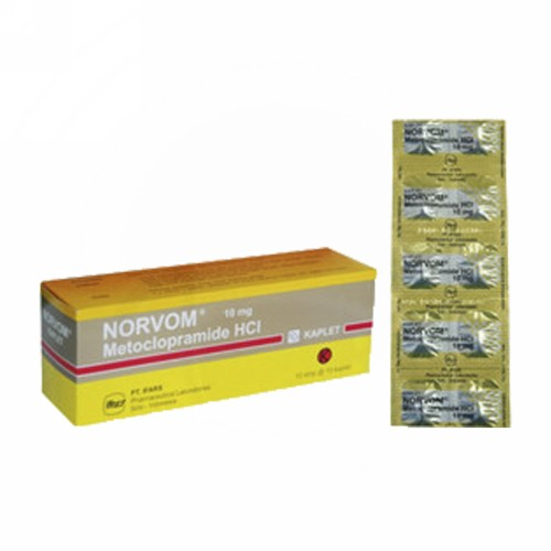 NORVOM 10 MG KAPLET STRIP