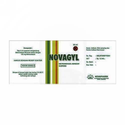 NOVAGYL 60 ML SUSPENSI