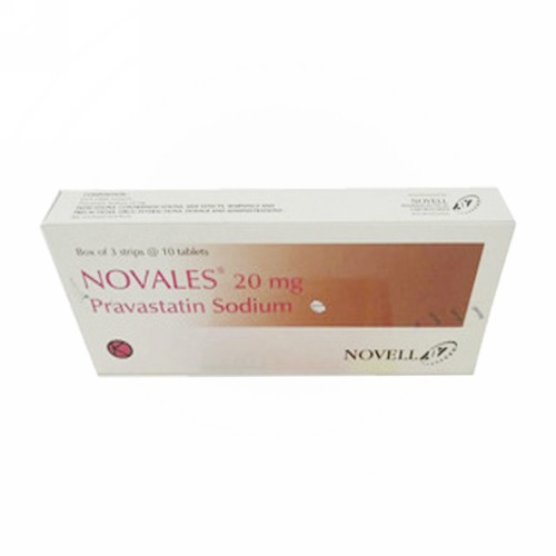 NOVALES 20 MG TABLET STRIP