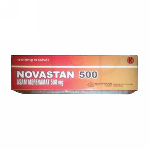 NOVASTAN 500 MG BOX 100 KAPLET