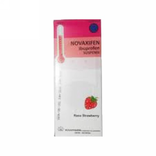 NOVAXIFEN SIRUP RASA STRAWBERRY 60 ML
