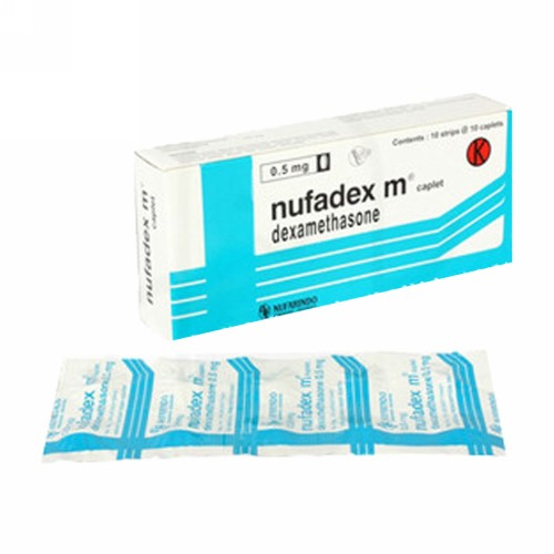 NUFADEX 0,5 MG TABLET BOX