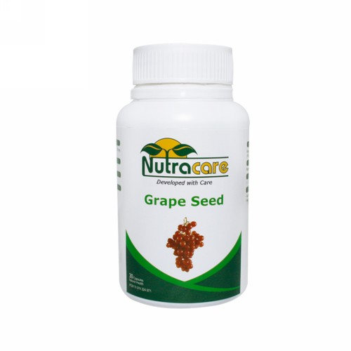 NUTRA CARE GRAPE SEED BOX 30 KAPSUL