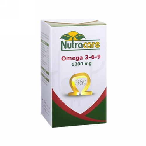 NUTRA CARE OMEGA 3-6-9 1200 MG BOX 30 KAPSUL