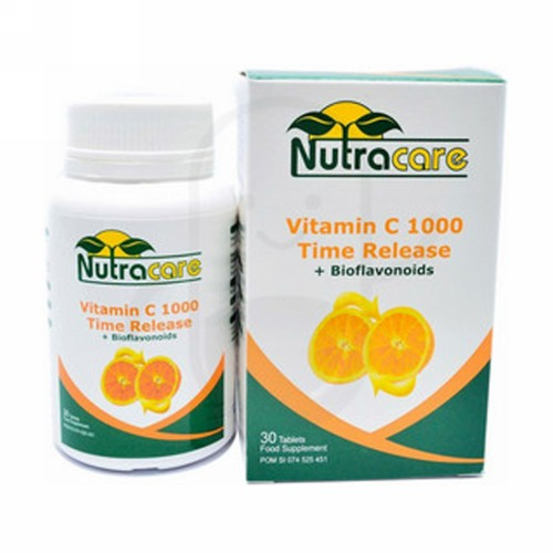 NUTRA CARE VITAMIN C TIME RELEASE BOX 30 TABLET