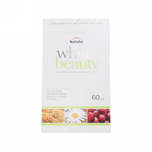 NUTRAFOR WHITE BEAUTY BOX 60 KAPSUL