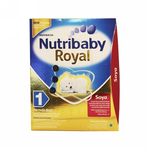 NUTRIBABY ROYAL SOYA 1 SUSU 800 GRAM
