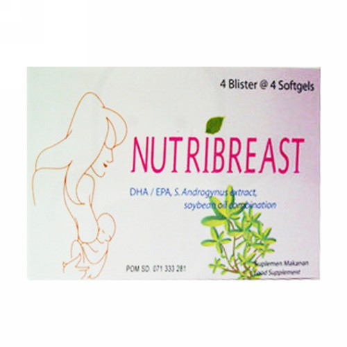 NUTRIBREAST STRIP 4 KAPSUL