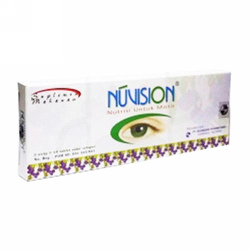 NUVISION BOX 30 TABLET