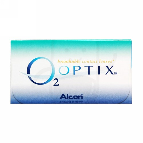 O2 OPTIX SILICONE HYDROGEL MONTHLY CLEAR LENS (-8.00) BENING