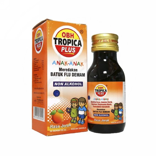 OBH TROPICA PLUS ANAK JERUK SIRUP 60 ML