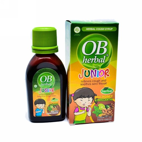 OBHERBAL JUNIOR SIRUP 60 ML