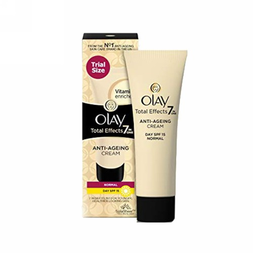 OLAY TOTAL EFFECTS 7 IN ONE DAY CREAM NORMAL SPF 15 TUBE 20 GRAM