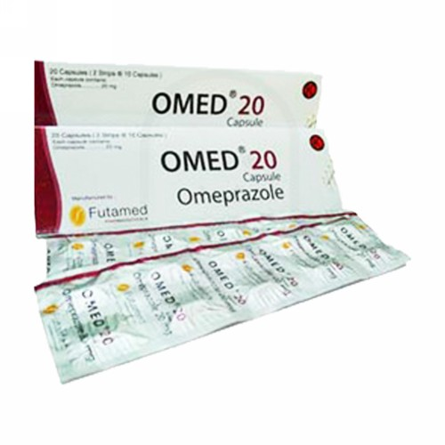 OMED 20 MG STRIP 10 KAPSUL
