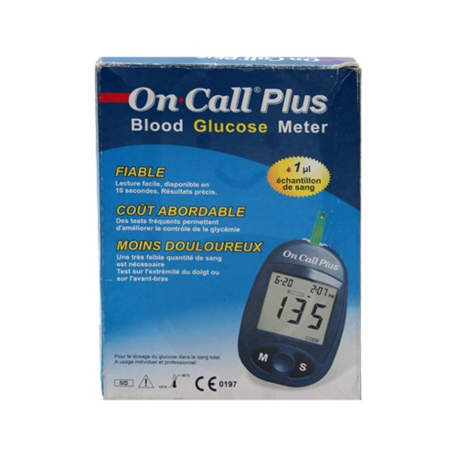 ON CALL PLUS BLOOD GLUCOSE METER
